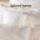 Rocco Medallion Tailored Square Pillow 18 Square