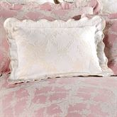 Lattice Floral Tailored Rectangle Pillow