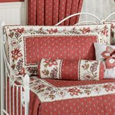 Chateau Rouge Quilted Sham Red