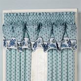 Chalet Bleu Tuck Valance Light Blue 90 x 20