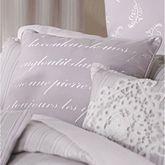 Lafayette Embroidered Square Pillow Wisteria 18 Square
