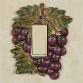 Grape Harvest Single Dimmer Rocker Sangria