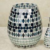 Mosaic Sea Wastebasket Multi Jewel