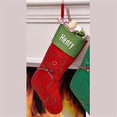 Christmas Dog Stocking Multi Warm