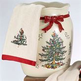 Spode Christmas Wastebasket Light Cream