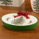 Spode Christmas Soap Dish Light Cream