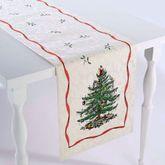 Spode Christmas Table Runner Light Cream 14 x 72