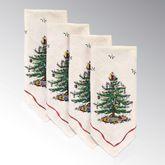 Spode Christmas Napkins Light Cream Set of Four