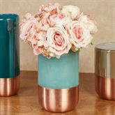 Copper Band Vase Multi Cool Small