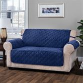 Geo Furniture Protector Blue Loveseat