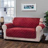 Geo Furniture Protector Burgundy Loveseat