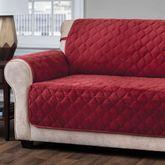 Geo Furniture Protector Burgundy Sofa