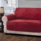 Geo Furniture Protector Burgundy Extra Long Sofa
