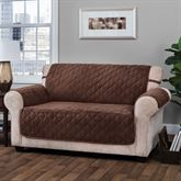 Geo Furniture Protector Chocolate Loveseat