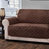 Geo Furniture Protector Chocolate Extra Long Sofa