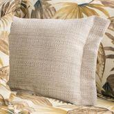 Tahiti Flanged Pillow Multi Warm Rectangle