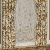 Tahiti Wide Tailored Curtain Pair Multi Warm 100 x 84