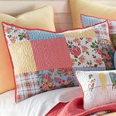 Sunny Patch Quilted Sham Multi Bright Standard
