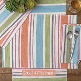 Sven Stripe Placemats Multi Pastel Set of Four