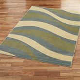 Contempo Waves Rectangle Rug