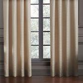 Anora Wide Tailored Curtain Pair Light Cream 100 x 84
