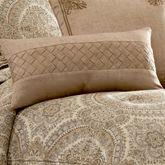 Sardinia Tailored Pillow Dark Beige Rectangle