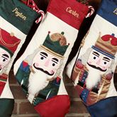 Nutcracker Red Stocking
