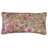 Deidre Reversible Pillow Rose Pink Rectangle