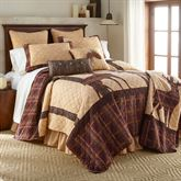 Brown Antler Woods Quilt Multi Warm
