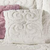 Allure Tailored Pillow Cream 18 Square