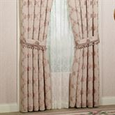 Floral Trellis Tailored Curtain Pair