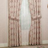 Floral Trellis Tailored Curtain Pair
