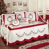 Holly Wreath Daybed Set Ivory Daybed