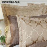 Quartz Flanged Tailored Sham Beige European
