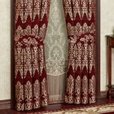 Dynasty Tailored Curtain Pair Merlot
