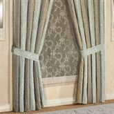 Hemmingway Tailored Curtain Pair Sterling Blue 98 x 84