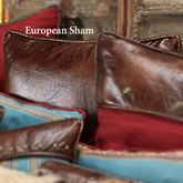 Ruidoso Solid Piped Sham Multi Warm European