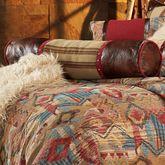 Ruidoso Piped Pillow Multi Warm Neckroll