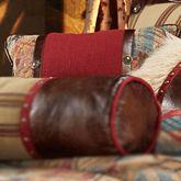 Ruidoso Piped Pillow Multi Warm Rectangle