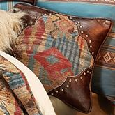 Ruidoso Piped Pillow Multi Warm 18 Square
