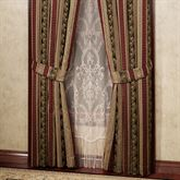 Triomphe Tailored Curtain Pair Latte 84 x 84