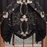 Annabella Rose Tie Up Shade Black 50 x 63