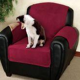 Fleece Reversible Pet Chair Cover Chair