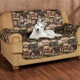 Lodge Pet Loveseat Cover Multi Warm