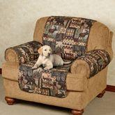 Lodge Pet Chair Cover Multi Warm Chair