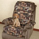 Lodge Pet Recliner/Wing Chair Cover Multi Warm