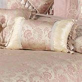 Chambery Tasseled Pillow Champagne Rectangle