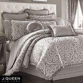 Babylon Comforter Set Silver