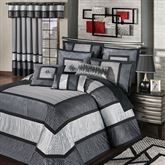 Omega Grande Bedspread Dark Gray