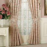 Chantilly Rose Curtain Pair